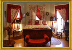 Heart Room | Breeden Inn Bed and Breakfast - Bennettsville, SC
