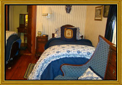 Hewes of Blue | Breeden Inn Bed and Breakfast - Bennettsville, SC