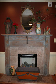 The Manor Fireplace